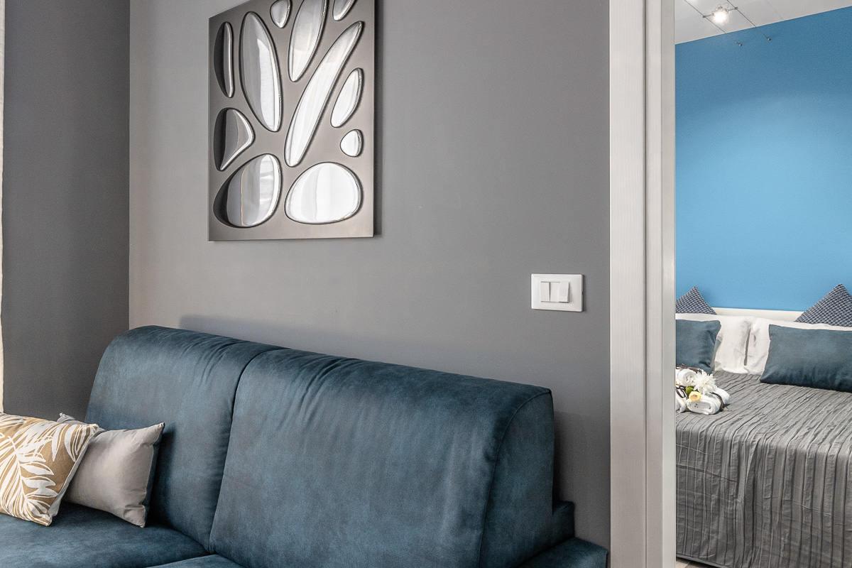 Salotto Appartamento Pavaglione | Ugo Bassi Apartments